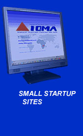 Small Start Up Web Site Design